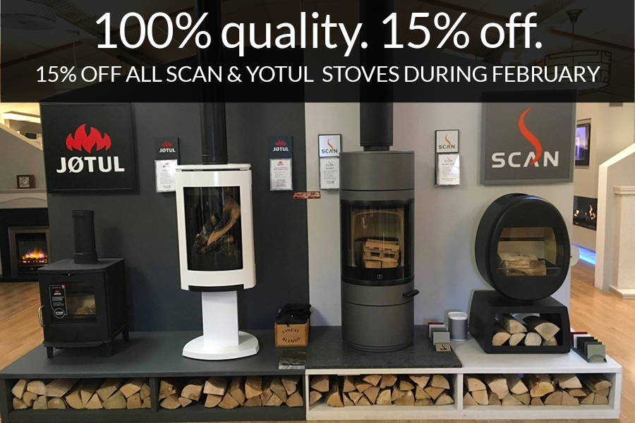 15% off Scan & Yotul stoves