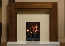 Focus Fireplaces - Gas Fires- Spanish front vfc tapered fire