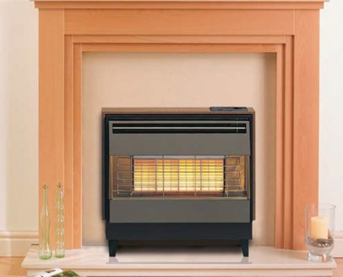 Robinson Willey Gas Fire - Firegem Visa Highline Deluxe