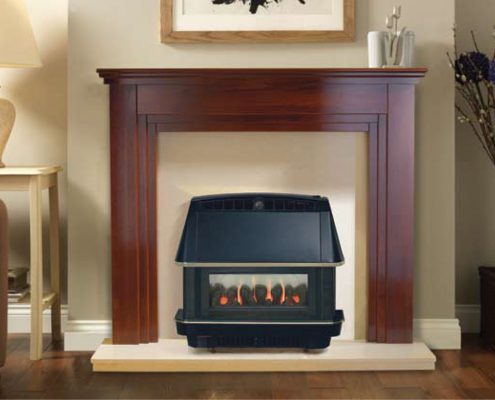 Robinson Willey Gas Fire - Firecharm LFE Black