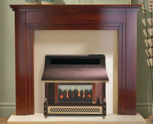 Robinson Willey Gas Fire - hara LFE Bronze