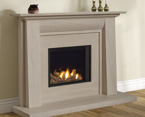 Infinity 480BF Stokesay Suite with Black Liners - Focus Fireplaces