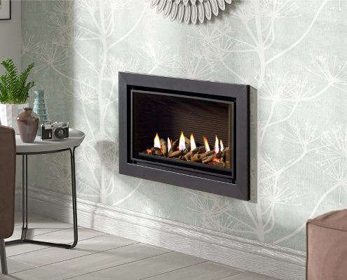 Infinity 600BF with Graphite Trim- Focus Fireplaces