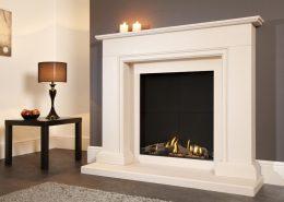 Flavel Sophia Slimline Balanced Flue Gas Fire Suite