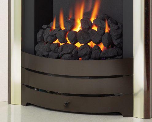 Spirit slimline: Modular Coal Fuel Bed - Focus Fireplaces