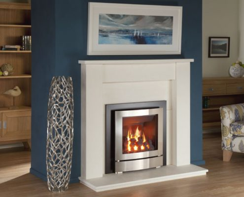 Nu-flame hotbox arc trim gas fire