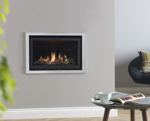 Focus Fireplaces - Valor Inspire 500 inset gas fire