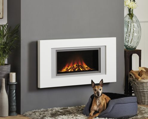 Focus Natasha slimline electric fire