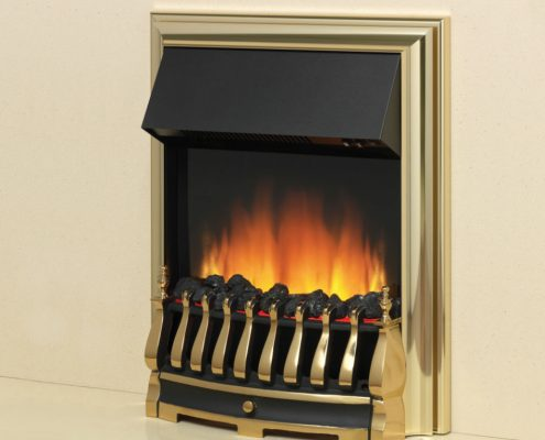 Flamerite Tyrus inset electric fire - Black