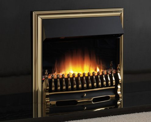Flamerite Tyrus 22 inset electric fire - Black