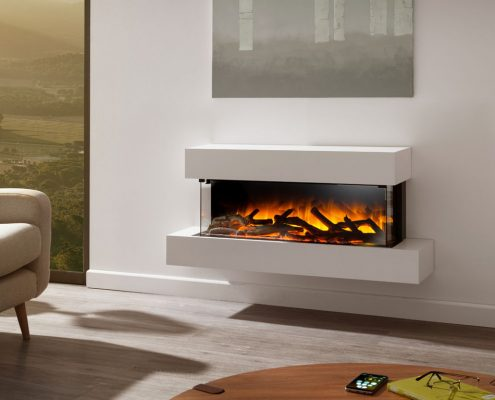 Evonic Glazer Iona wall mounted electric suite
