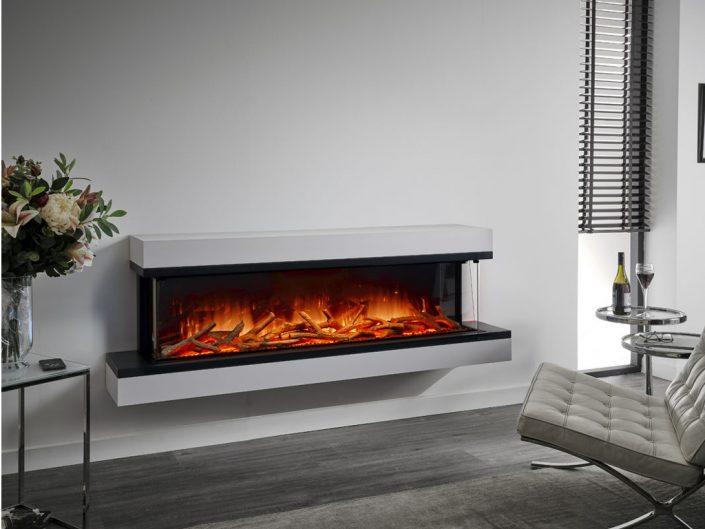 Flamerite Iona 1500 electric modular suite