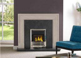 The Penman Collection - Arlington Portuguese Limestone fireplace