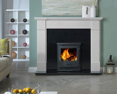 The Penman Collection -Velletri Agean Limestone fireplace