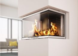 Rais Visio 3:1 wood burning inset fire