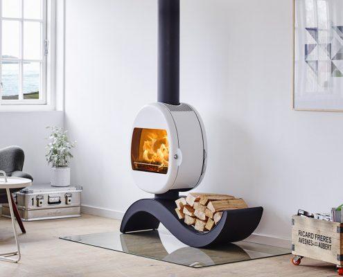Scan 66-5 S-shape Wood burning Stove