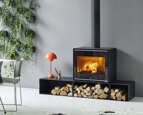 Scan 1010 Wood burning Stove