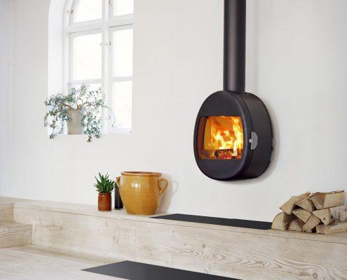 Scan 66-1 S-shape Wood burning Stove