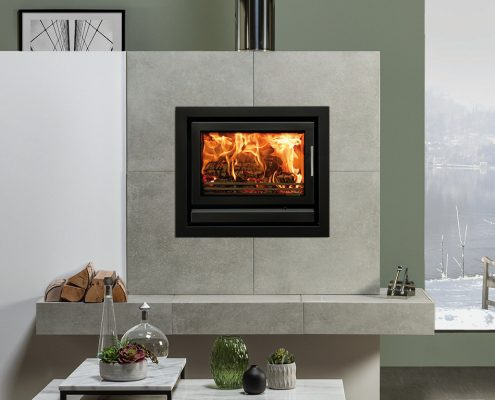 Stovax Riva 66 inset wood burning and multi-fuel fire