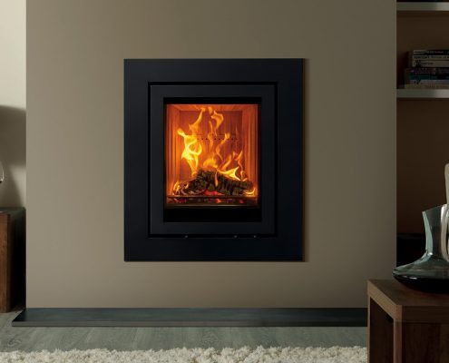 Stovax Elise Expression 540T inset wood burning and multi-fuel fire
