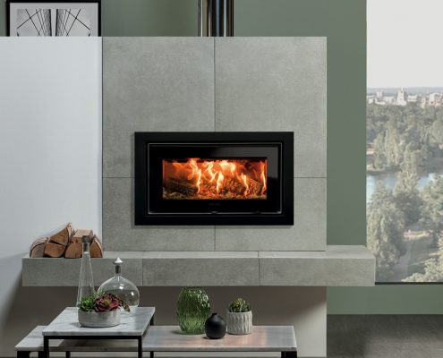Stovax Studio 1 Ecodesign inset wood burning and multi-fuel fire