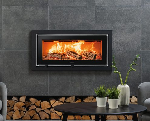 Stovax Studio 2 Ecodesign inset wood burning and multi-fuel fire