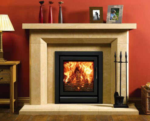 Stovax Riva 55 inset wood burnin g and multi-fuel fire