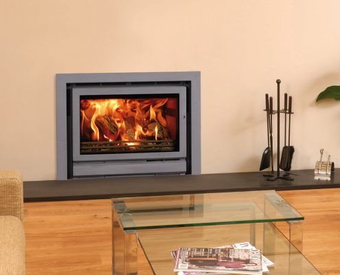 Stovax Riva 76 inset wood burning and multi-fuel fire