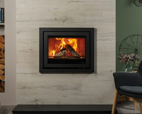 Stovax Elise Profil 680 inset wood burning and multi-fuel fire