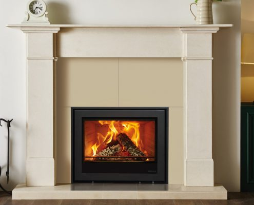 Stovax Elise Edge Plus 680 inset wood burning and multi-fuel fire