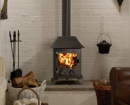 Yeoman Exmoor Wood burning Multi-fuel Stove