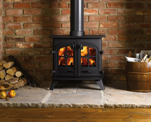 Yeoman Devon Wood burning Multi-fuel Stove