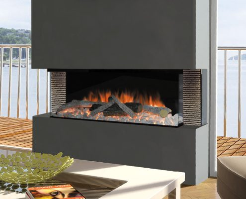 Evonic Kiruna electric fire - Halo range