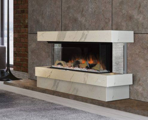Evonic Kalmar electric fire - Halo range