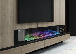 Evonic Linnea electric fire - Halo range