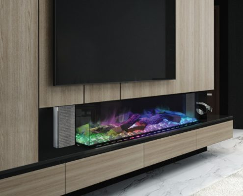 Evonic Linnea electric fire - Halo range