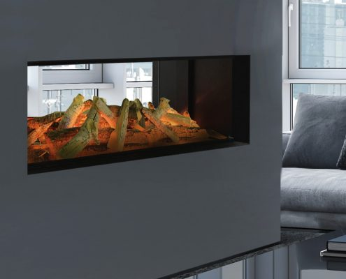 Evonic Lindstrom ds electric fire - Halo range