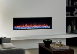 Gazco Skope 135R Inset electric fire with Crystal Ice effect