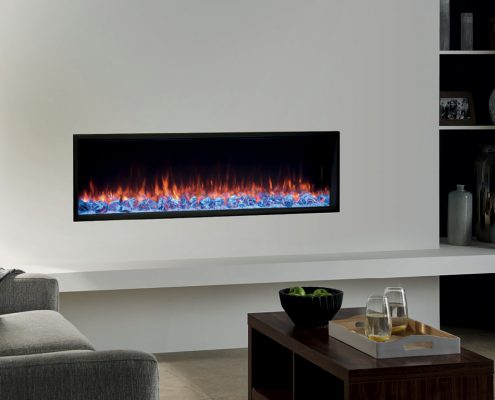 Gazco eReflex 135R Inset electric fire with Crystal Ice effect