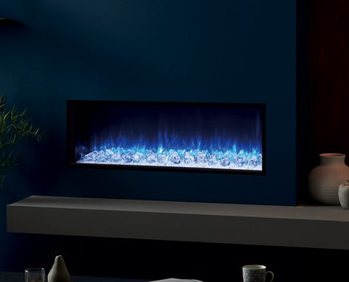 eReflex 105R Inset Electric Fire with Crystal Ice-effect