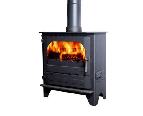 Dunsley Advance 500 Wood burning Stove - Standard Black
