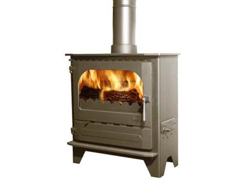 Dunsley Advance 500 Wood burning Stove - Honey Glo Brown