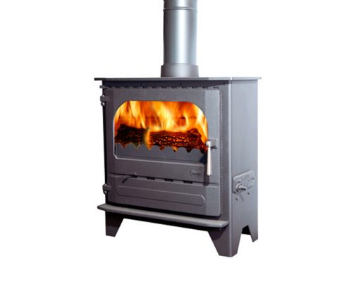 Dunsley Advance 500 Wood burning Stove - Charcoal