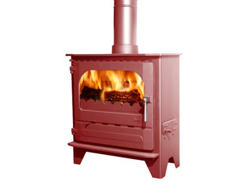 Dunsley Advance 500 Wood burning Stove - Shimmering Rose