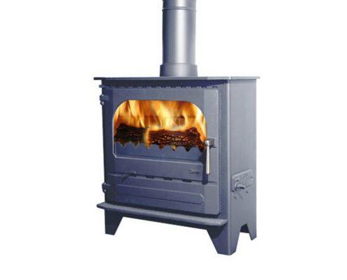 Dunsley Advance 500 Wood burning Stove - Metallic Blue