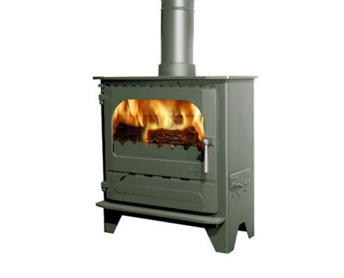 Dunsley Advance 500 Wood burning Stove - Forest Green