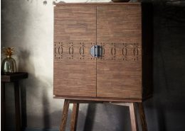 Gallery Direct Boho Retreat Cocktail Cabinet W850 x D400 x H1570mm