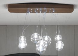 Libra adjustable pendant lamp - Italian design