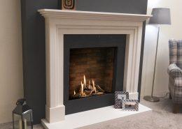 Natura Fireplaces Eldon in Limestone