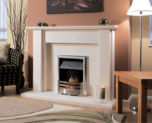 Newman Portuguese Limestone Fireplaces - Mimosa from Designer Collection